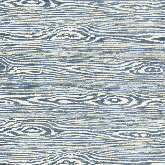 Transitional Scalamandre Muir Woods Fabrics in Wedgwood For Sale - Image 3 of 3