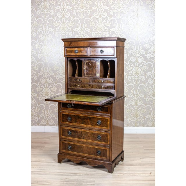 Traditional Late 19th-Century Secretary Desk For Sale - Image 3 of 13