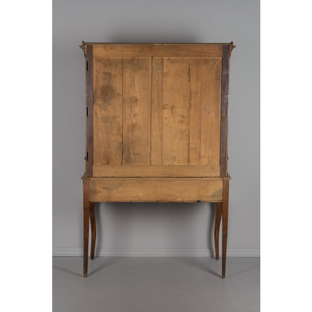 Late 19th Century Late 19th Century Antique French Country Style Slant Top Desk For Sale - Image 5 of 11