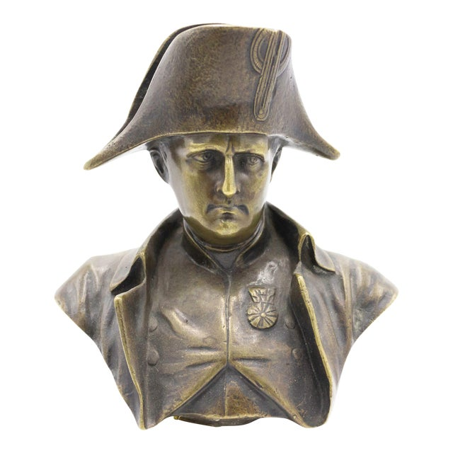 French Empire Bronze Napoleon Bust For Sale
