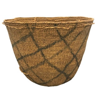 Yanomami Gathering Basket For Sale