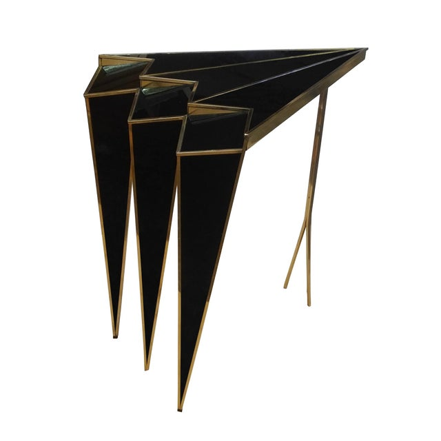 Gold Susan Side Table by MarGian Studio For Sale - Image 8 of 8
