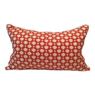 Schumacher Betwixt Printed Lumbar Pillow