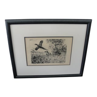 Fred McCaleb Vintage Dry Point Talio-Chrom For Sale