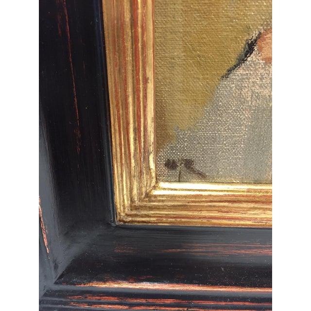 "Paula Rubino Rubino Oil Painting ""Steampunktress"", Contemporary Portrait For Sale - Image 4 of 7"