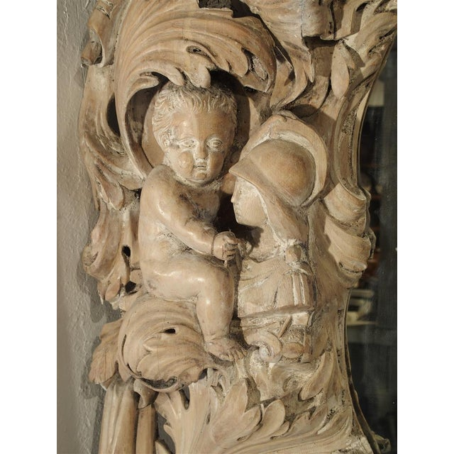 Monumental 19th Century Baroque Mirror from Italy For Sale In Dallas - Image 6 of 11