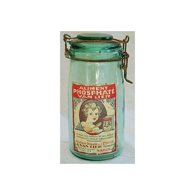 Early 1900s French Preserve Canning Jars - A Pair - Image 6 of 6