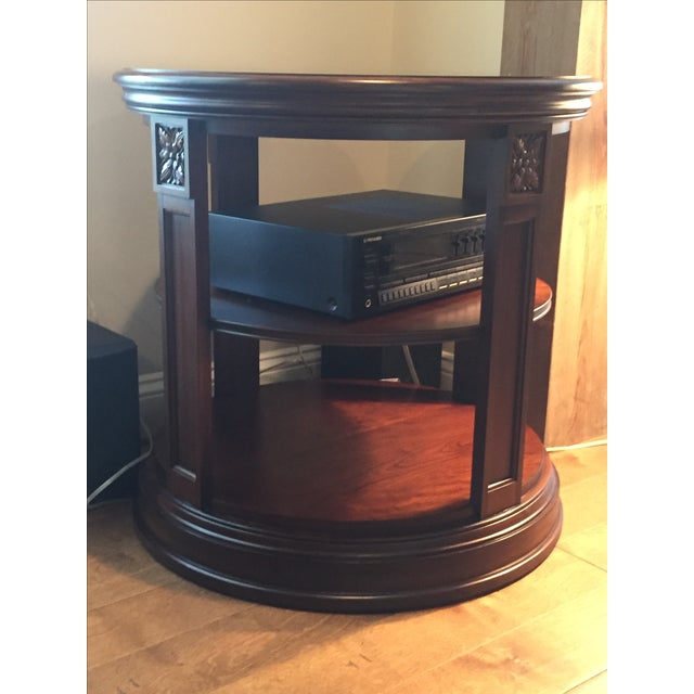 Ethan Allen Starburst Library Table - Image 4 of 4