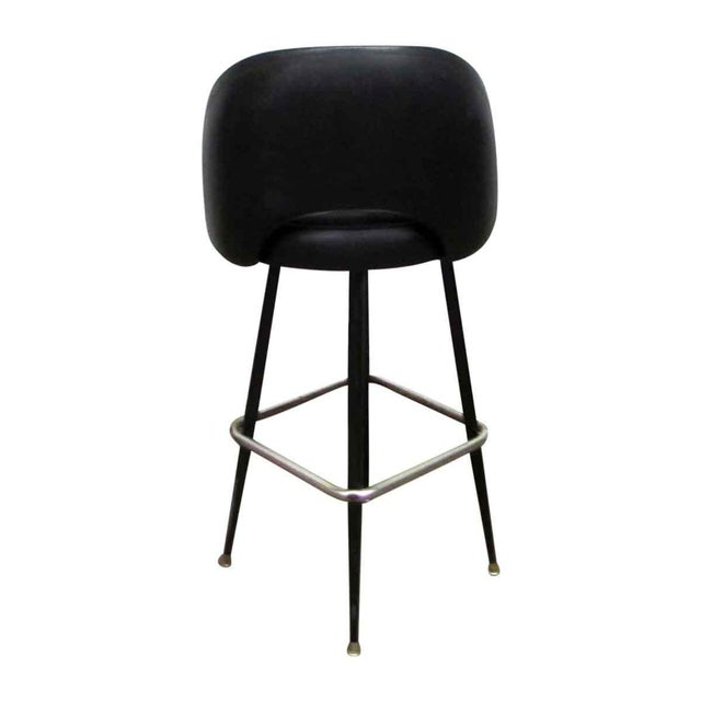 Super Retro Black Vinyl Bar Stool Ocoug Best Dining Table And Chair Ideas Images Ocougorg