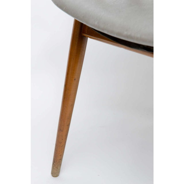 Wooden MCM Chair Attributed to Paul McCobb 1950 For Sale - Image 9 of 10
