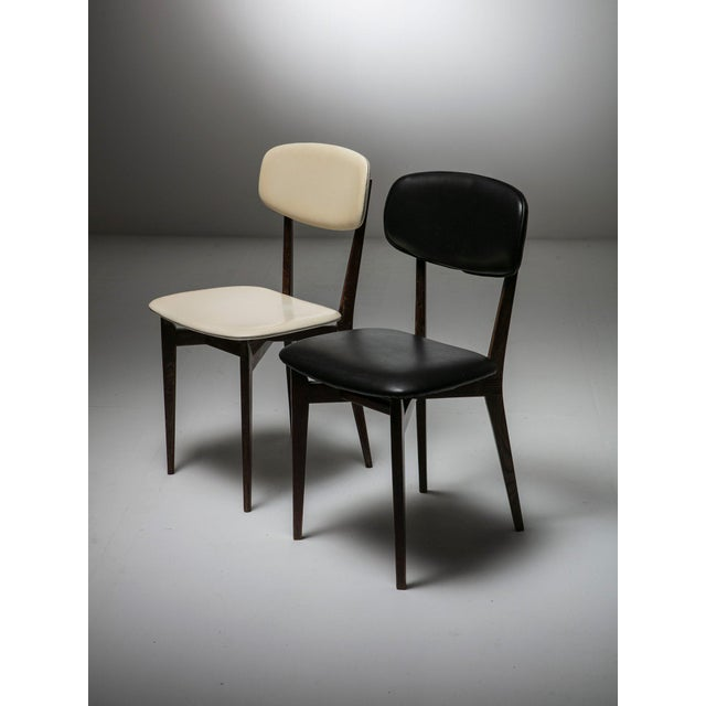 Pair of Chairs Modrl 691 by Ico Parisi for Cassina For Sale - Image 6 of 6