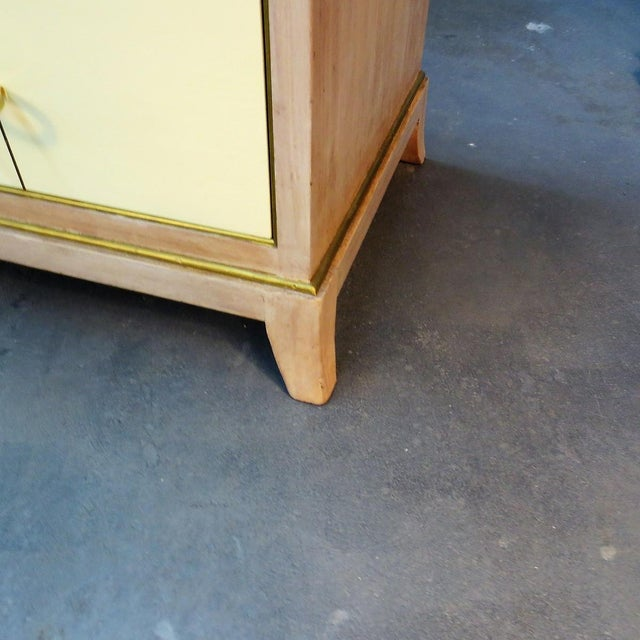 Parzinger Style Chest of Drawers For Sale - Image 9 of 10