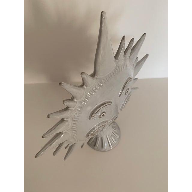 Gray Jonathan Adler Utopia Sun Vase For Sale - Image 8 of 13