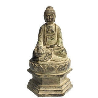 Antique Bronze Statue of Young Buddha For Sale