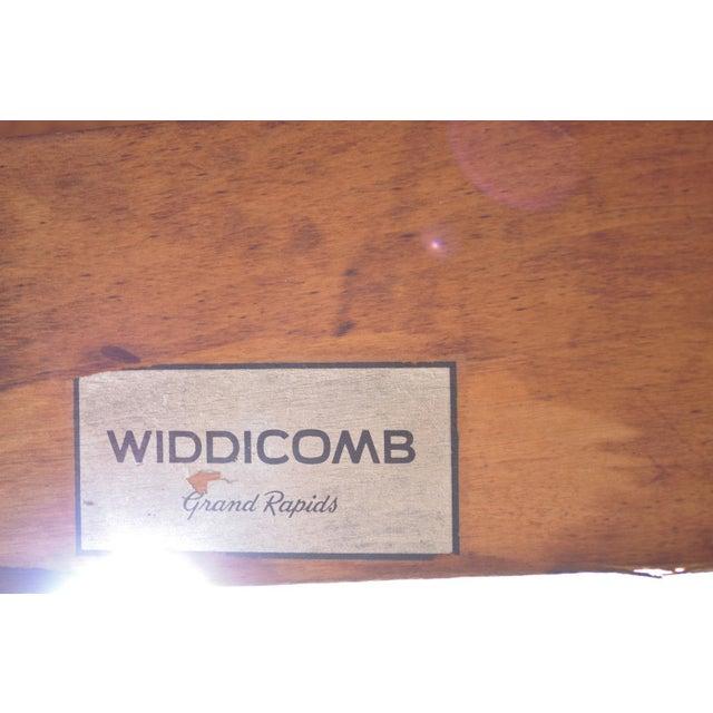 Vintage Mid Century Modern T H Robsjohn Gibbings Widdicomb Klismos Dining Table - Image 2 of 11