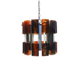 Mid-Century Modern Bakelite Ceiling Light