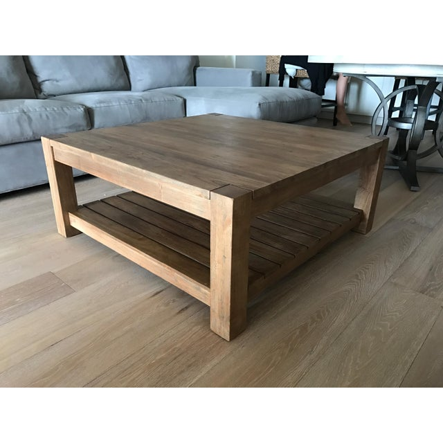 Crate And Barrel Tables: Crate And Barrel Edgewood Square Coffee Table
