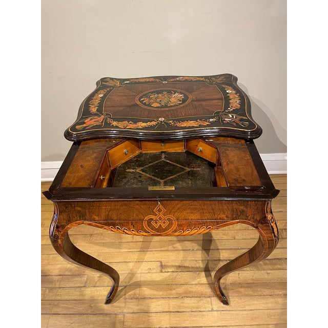 Brown 19th Century French Side Table For Sale - Image 8 of 13