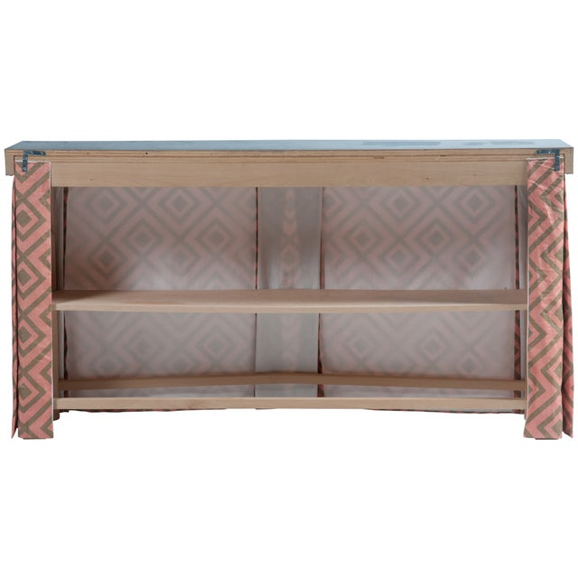 Zinc Top Console Table - Image 3 of 5