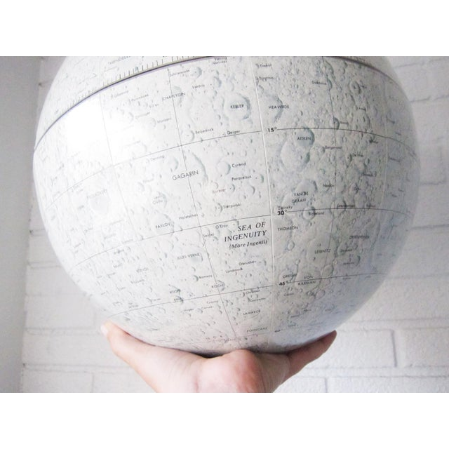 Vintage Replogle Mid-Century Lunar Moon Globe For Sale - Image 9 of 10