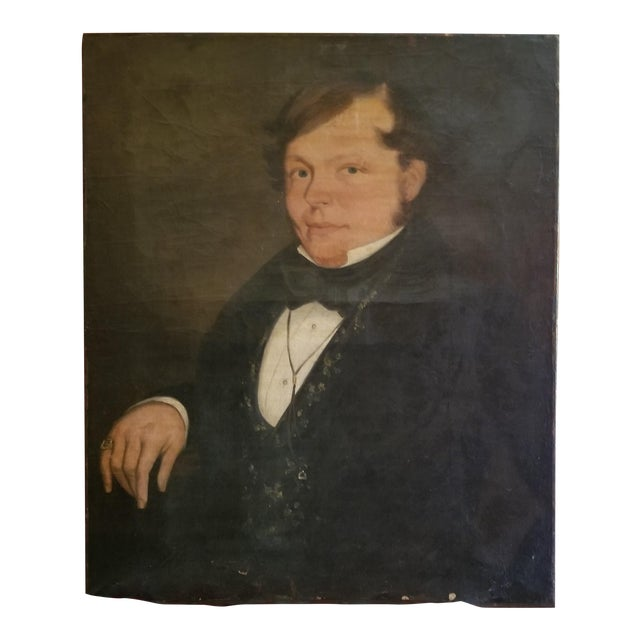 19th Century Oil Painting For Sale
