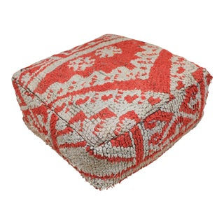 Moroccan Boujad Pouf Cover For Sale