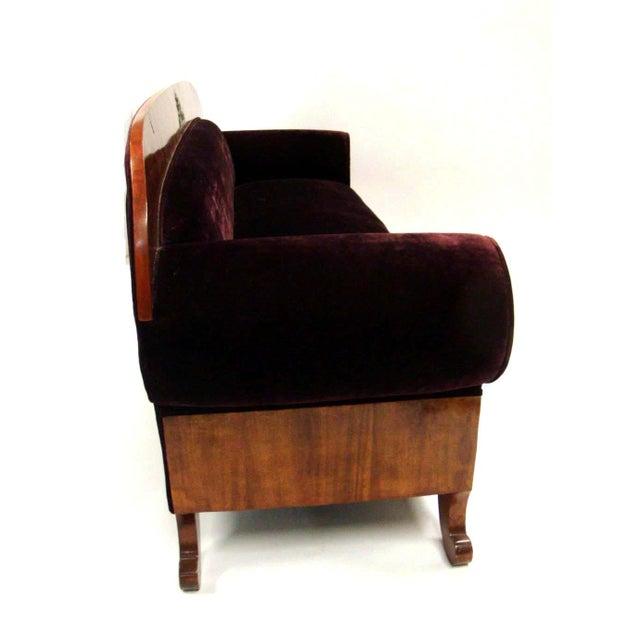 Biedermeier Period Mahogany Sofa - Image 6 of 7