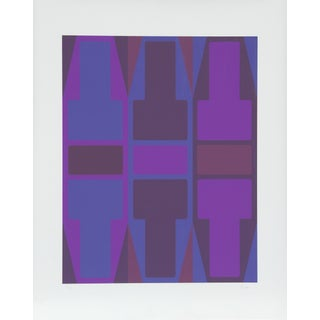 T Series (Purple) Serigraph by Arthur Boden