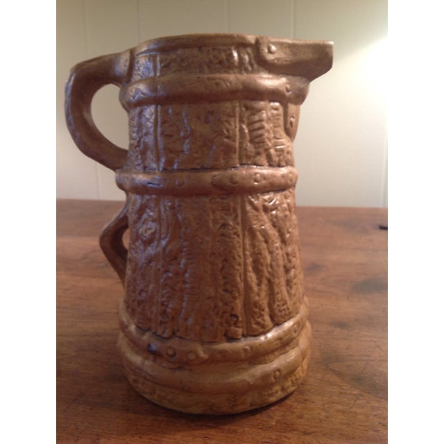 Country Hilstonia Faux Bois Jug For Sale - Image 3 of 6
