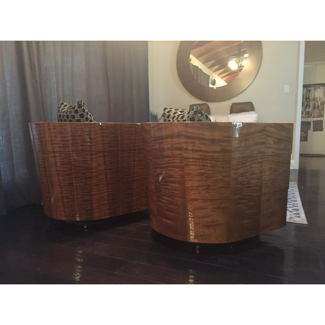 Pace Collection Swivel Tub Chairs - A Pair - Image 5 of 7