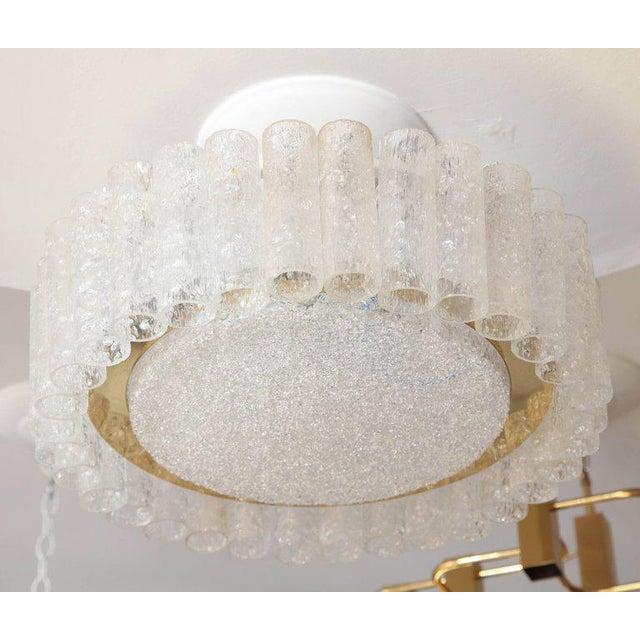 Traditional Vintage Doria Flush Mount Light For Sale - Image 3 of 8