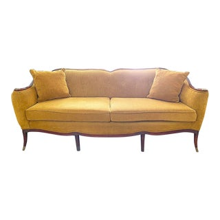 Mid-Century French Provincial Louis Vx Style Sofa For Sale