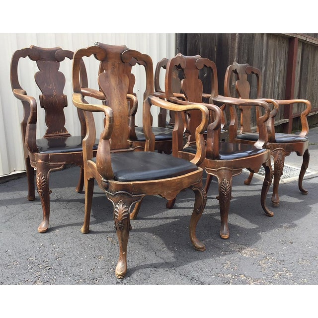 20th Century Chippendale Dining Yoke Chairs - a Pair For Sale - Image 12 of 13