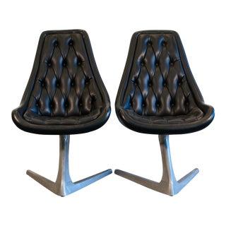 1960s Vintage Chromecraft Star Trek Chairs - a Pair For Sale