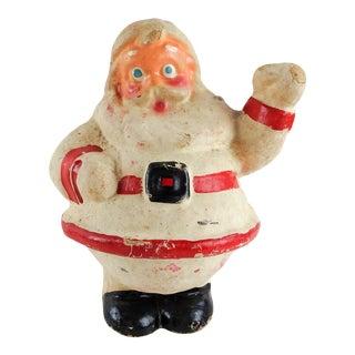 Vintage Paper Mache Santa Claus For Sale