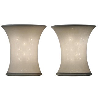 "Pair of ""Lucilla"" Table Lamps By Gianfranco Frattini For Sale"