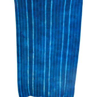 West African Indigo Blanket
