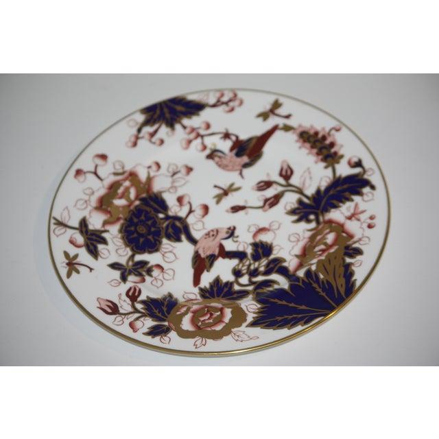 Coalport Porcelain Coalport Hong Kong Pattern Bone China Dinner Plate For Sale - Image 4 of 8