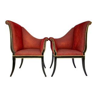 Karges Parler Deux Chairs - A Pair For Sale