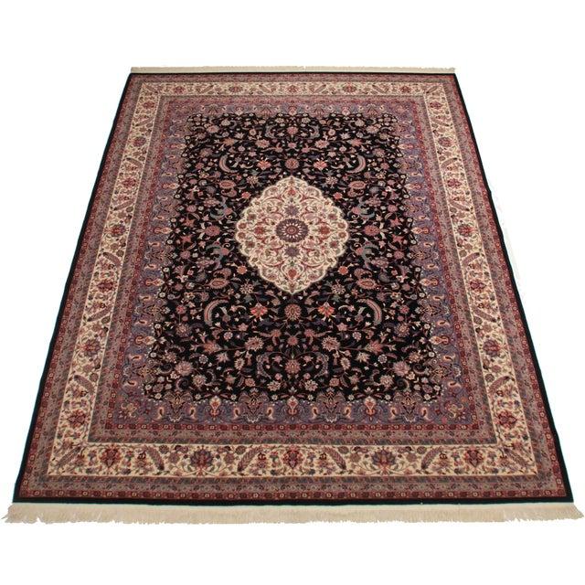 Rugsindallas Vintage Persian Design Wool Area Rug: RugsinDallas Vintage Hand Knotted Wool Chinese Rug