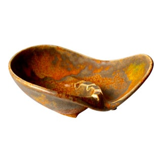 Mid-Century Haeger Pottery Ashtray For Sale