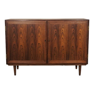 Original Danish Mid Century Rosewood Media Unit For Sale