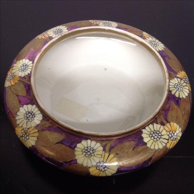 O&E G Royal Austria Iridescent Ceramic Bowl, 1829 - Image 5 of 6