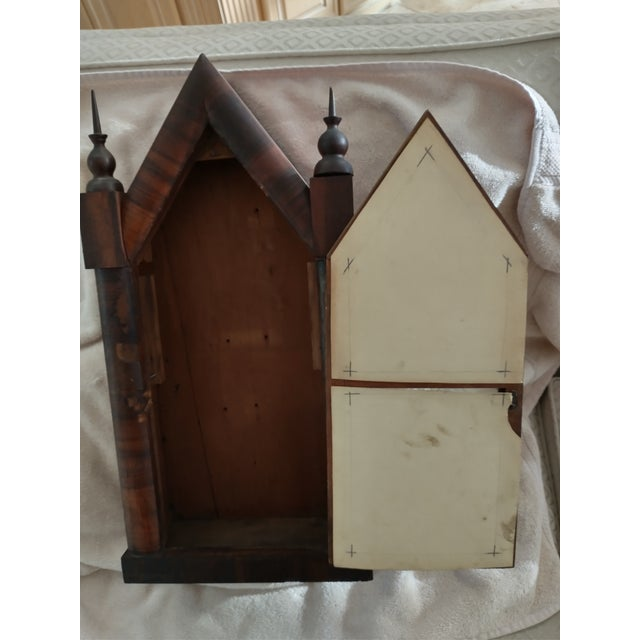 Mid 19th Century Steeple Clock Case For Sale In Jacksonville, FL - Image 6 of 7