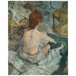 """1950s """"La Toilette"""" Lithograph by Henri De Toulouse-Lautrec For Sale"""