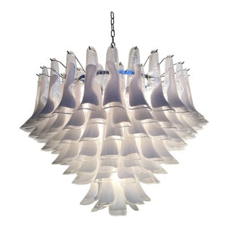 "Mazzega Style Murano Glass ""Selle"" Sputnik Chandelier For Sale"