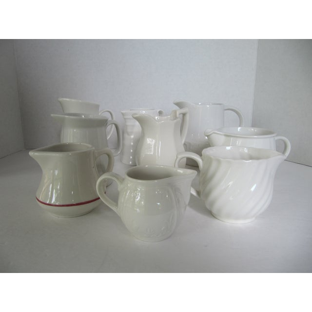 Collection of Cream Pitchers - Set of 9 - Image 8 of 8