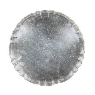 Georg Jensen Sterling Circular Tray For Sale