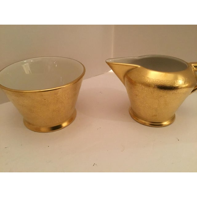 Gold Pickard Tea Service For Sale - Image 6 of 9