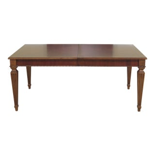 French Louis XVI Ethan Allen Dining Room Table For Sale